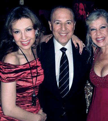 Thalia Celebrates New Year