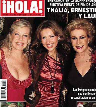 Thalía en la Revista HOLA