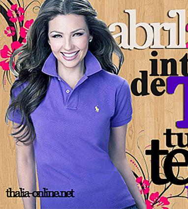 Felíz Día Internacional de Thalía