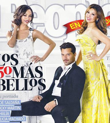 Thalía en la portada de People en Español