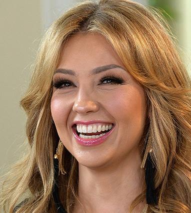 Thalía visita la mansión de Nuestra Belleza  Latina