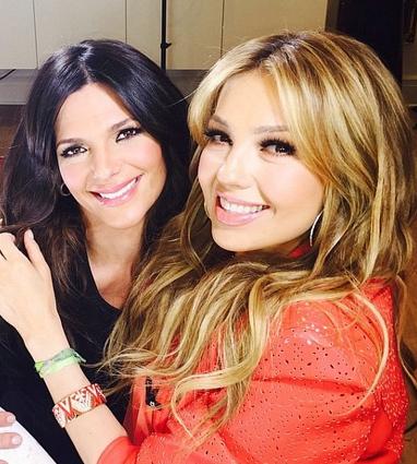 Entrevista exclusiva con Thalía en Primer Impacto