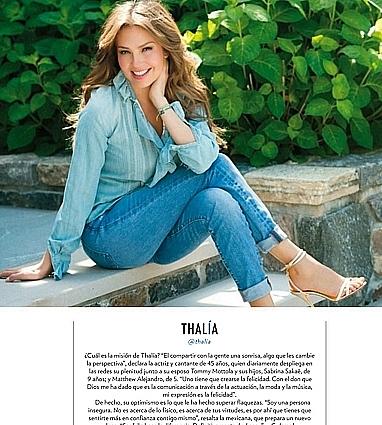 Thalía, En 50 Más bellos