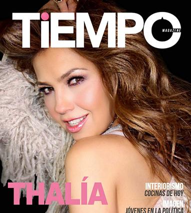 Thalia en la revista Tiempo
