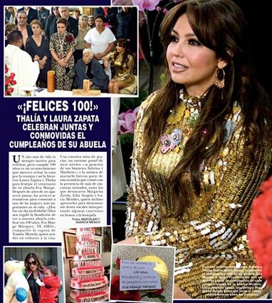 Thalía en Hola México